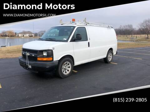 2009 Chevrolet Express Cargo for sale at Diamond Motors in Pecatonica IL