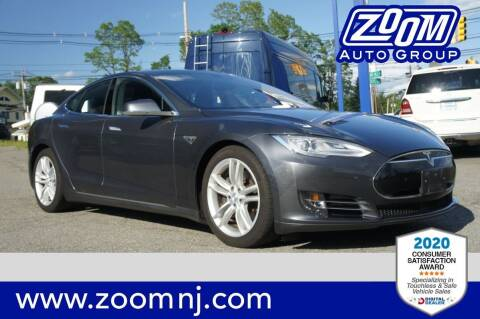 2015 Tesla Model S for sale at Zoom Auto Group in Parsippany NJ