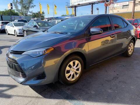 2018 Toyota Corolla for sale at AUTO ALLIANCE LLC in Miami FL