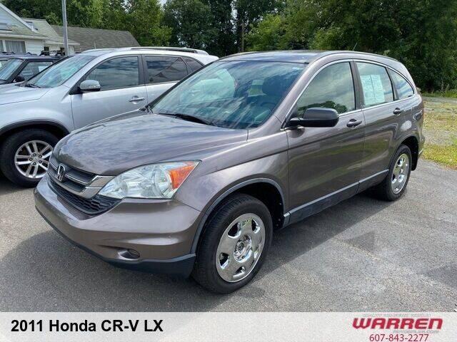 2011 Honda CR-V for sale at Warren Auto Sales in Oxford NY