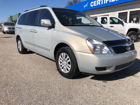 2012 Kia Sedona for sale at Perrys Certified Auto Exchange in Washington IN