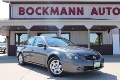 2006 Nissan Altima for sale at Bockmann Auto Sales in Saint Paul NE
