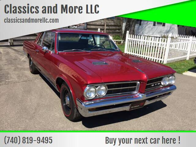 1964 Pontiac Le Mans for sale at Classics and More LLC in Roseville OH