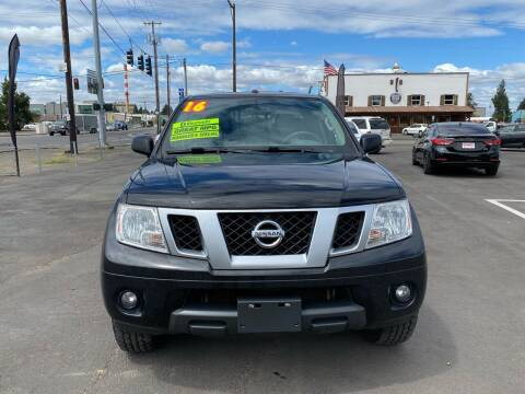 2016 Nissan Frontier for sale at Low Price Auto and Truck Sales, LLC in Salem OR