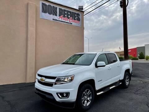 2020 Chevrolet Colorado for sale at Don Reeves Auto Center in Farmington NM