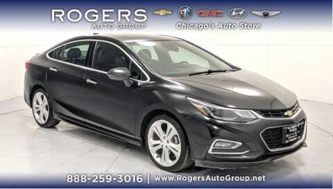 2018 Chevrolet Cruze for sale at ROGERS  AUTO  GROUP in Chicago IL
