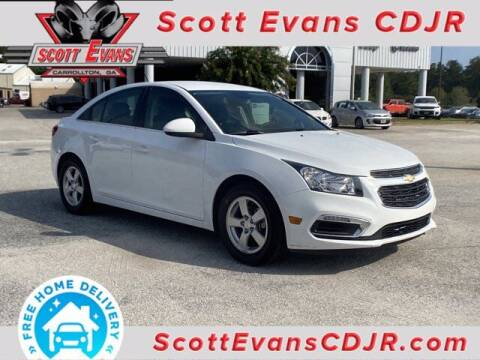 2016 Chevrolet Cruze Limited for sale at SCOTT EVANS CHRYSLER DODGE in Carrollton GA