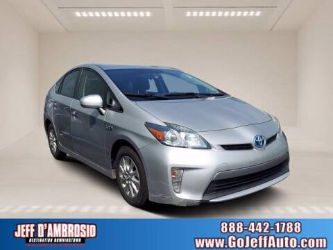 2013 Toyota Prius Plug-in Hybrid for sale at Jeff D'Ambrosio Auto Group in Downingtown PA