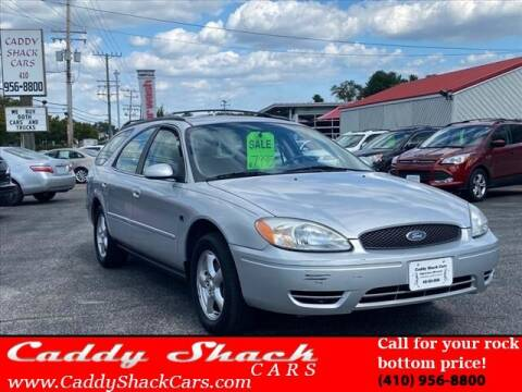2004 Ford Taurus for sale at CADDY SHACK CARS in Edgewater MD