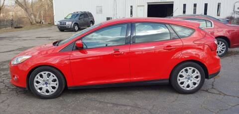 2012 Ford Focus for sale at Superior Motors in Mount Morris MI