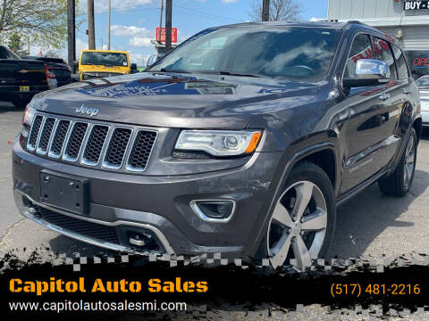 2015 Jeep Grand Cherokee for sale at Capitol Auto Sales in Lansing MI