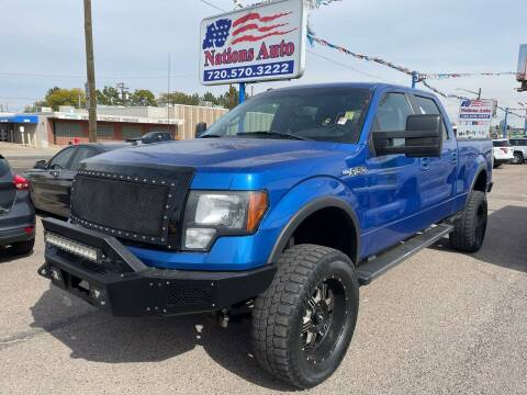 2012 Ford F-150 for sale at Nations Auto Inc. II in Denver CO