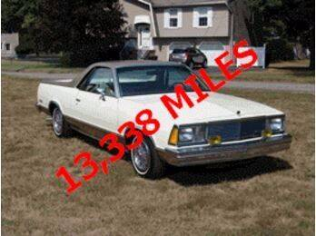 1981 Chevrolet El Camino for sale at Haggle Me Classics in Hobart IN