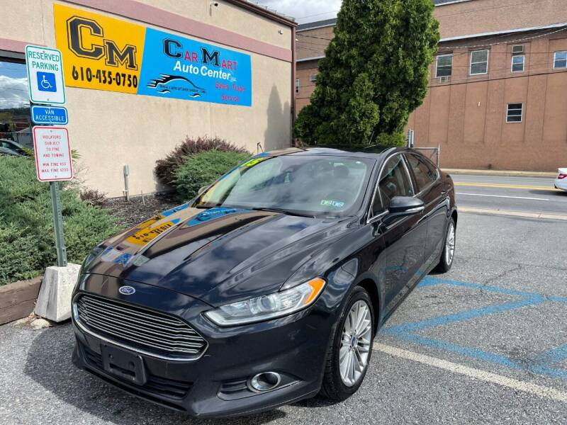 2015 Ford Fusion for sale at Car Mart Auto Center II, LLC in Allentown PA