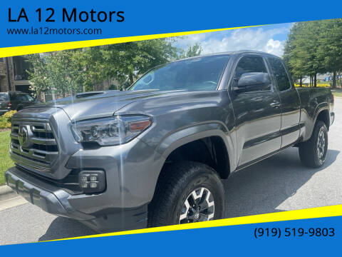 2019 Toyota Tacoma for sale at LA 12 Motors in Durham NC
