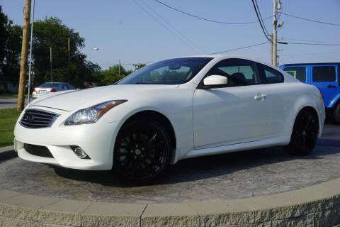 2013 Infiniti G37 Coupe for sale at Platinum Motors LLC in Heath OH