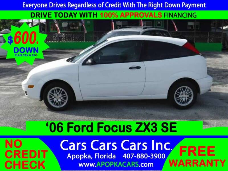 2006 Ford Focus for sale at CARS CARS CARS INC in Apopka FL