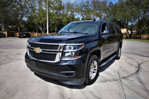 2015 Chevrolet Suburban for sale at Easy Deal Auto Brokers in Hollywood FL