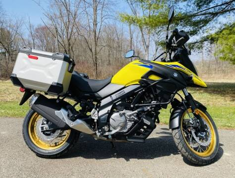 2021 Suzuki V-Strom 650XT Adventure for sale at Street Track n Trail in Conneaut Lake PA