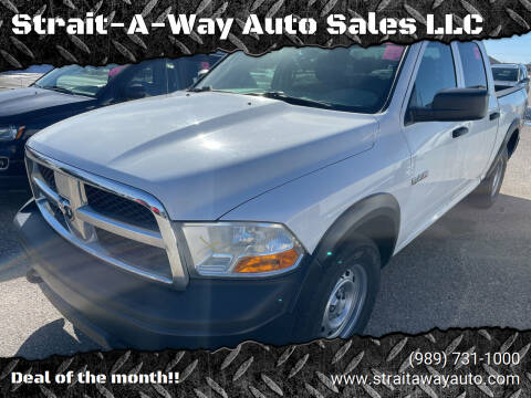 2010 Dodge Ram Pickup 1500 for sale at Strait-A-Way Auto Sales LLC in Gaylord MI