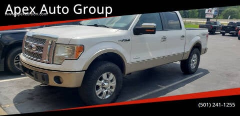 2012 Ford F-150 for sale at Apex Auto Group in Cabot AR