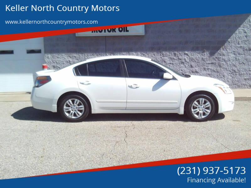 2012 Nissan Altima for sale at Keller North Country Motors in Howard City MI