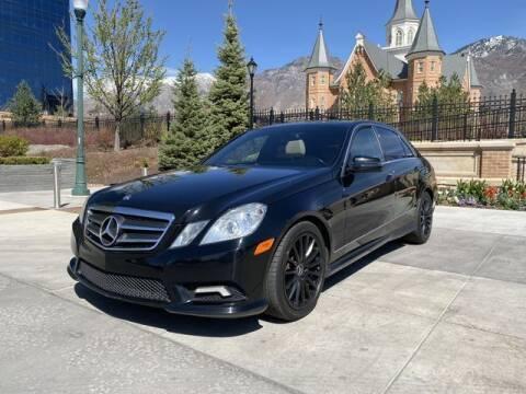 2011 Mercedes-Benz E-Class for sale at Classic Car Deals in Cadillac MI