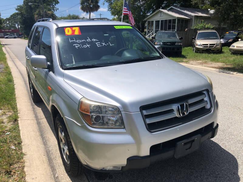 2007 Honda Pilot for sale at Castagna Auto Sales LLC in Saint Augustine FL