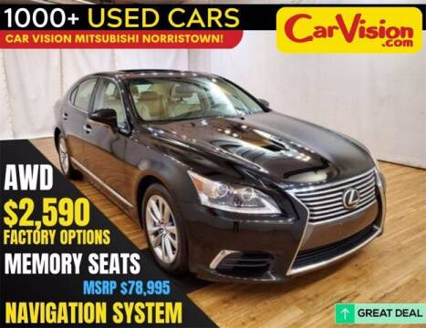 2016 Lexus LS 460 for sale at Car Vision Buying Center in Norristown PA
