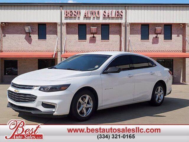 2017 Chevrolet Malibu for sale at Best Auto Sales LLC in Auburn AL
