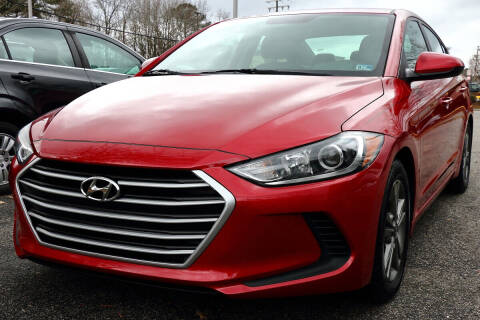 2017 Hyundai Elantra for sale at Prime Auto Sales LLC in Virginia Beach VA