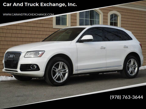 2015 Audi Q5 for sale at Car and Truck Exchange, Inc. in Rowley MA