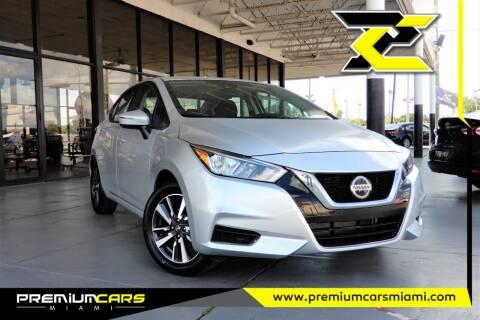 2021 Nissan Versa for sale at Premium Cars of Miami in Miami FL