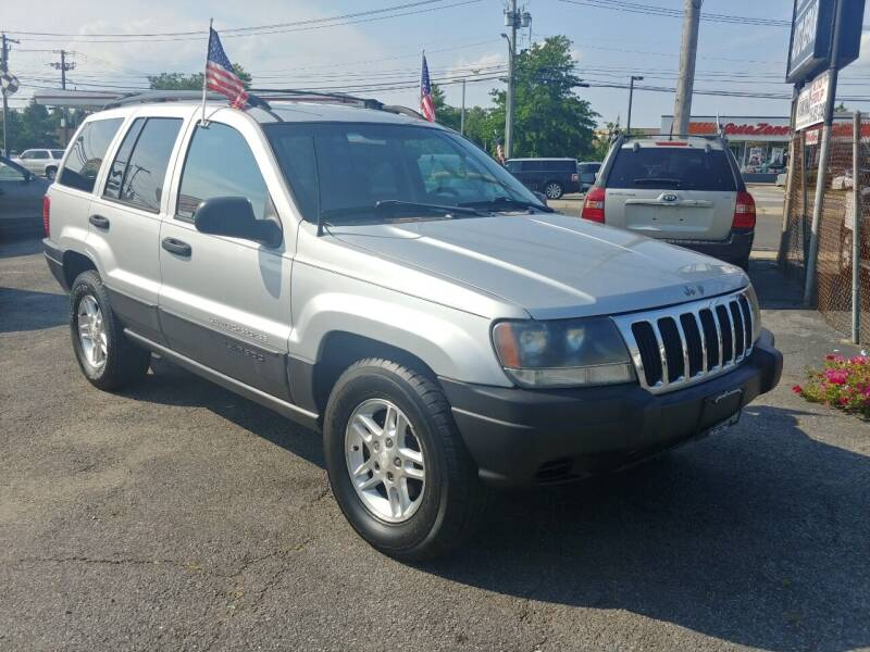 2003 Jeep Grand Cherokee for sale at Viking Auto Group in Bethpage NY