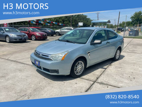 2008 Ford Focus for sale at H3 MOTORS in Dickinson TX