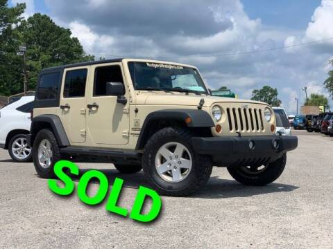 2011 Jeep Wrangler Unlimited for sale at Rodgers Wranglers in North Charleston SC
