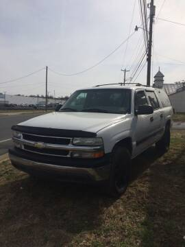 2001 Chevrolet Suburban for sale at Village Auto Center INC in Harrisonburg VA