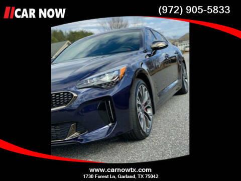 2020 Kia Stinger for sale at Car Now Dallas in Dallas TX