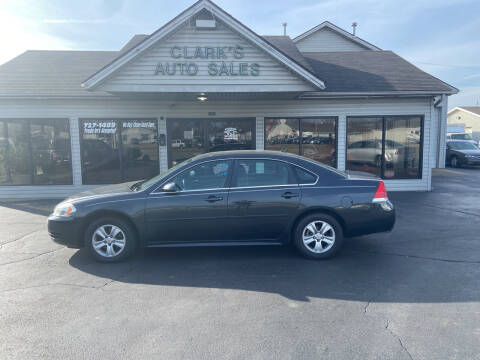 2013 Chevrolet Impala for sale at Clarks Auto Sales in Middletown OH