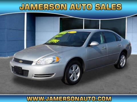 2006 Chevrolet Impala for sale at Jamerson Auto Sales in Anderson IN