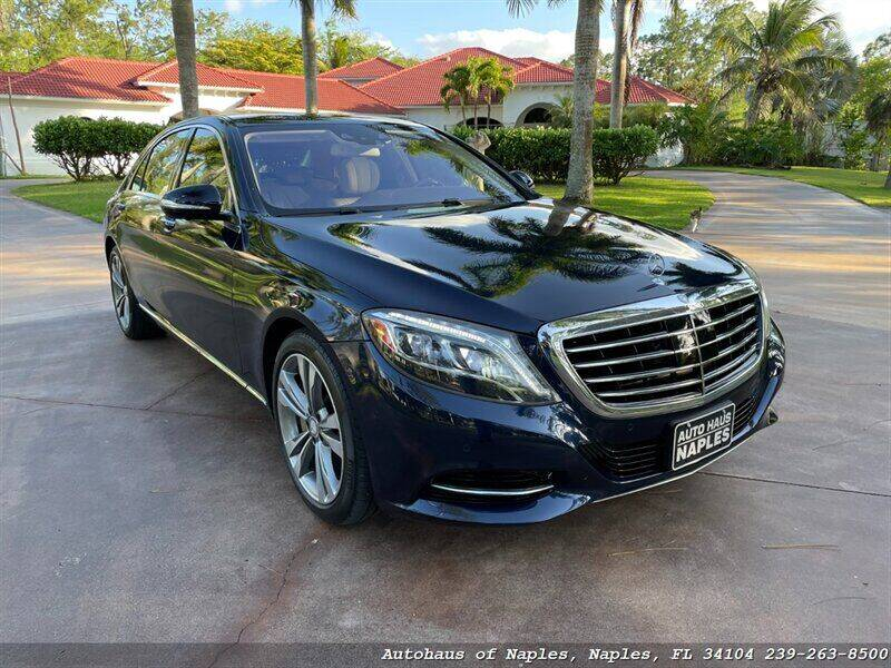 2014 Mercedes-Benz S-Class for sale at Autohaus of Naples Inc. in Naples FL