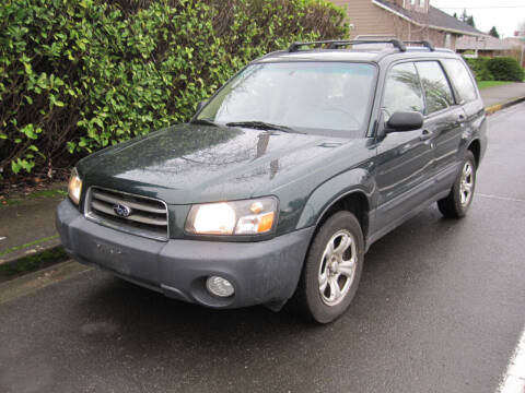 2003 Subaru Forester for sale at All About Cars in Marysville-Washington State WA