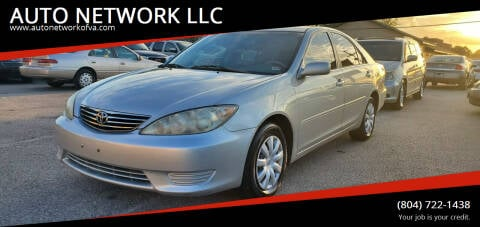 2005 Toyota Camry for sale at AUTO NETWORK LLC in Petersburg VA