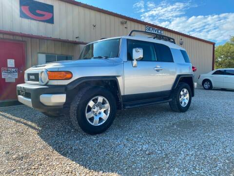 2008 Toyota FJ Cruiser for sale at Gtownautos.com in Gainesville TX