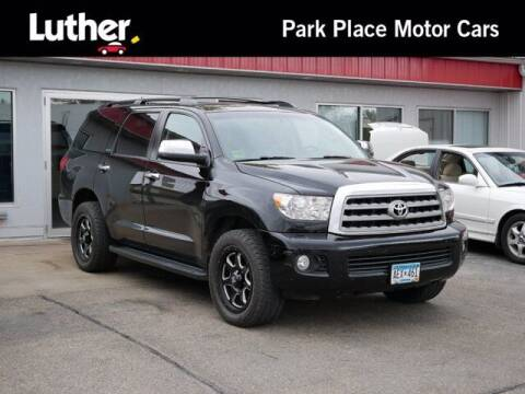 2017 Toyota Sequoia for sale at Park Place Motor Cars in Rochester MN