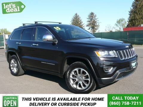 2015 Jeep Grand Cherokee for sale at Shamrock Motors in East Windsor CT