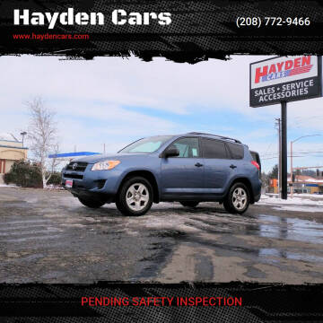 2012 Toyota RAV4 for sale at Hayden Cars in Coeur D Alene ID