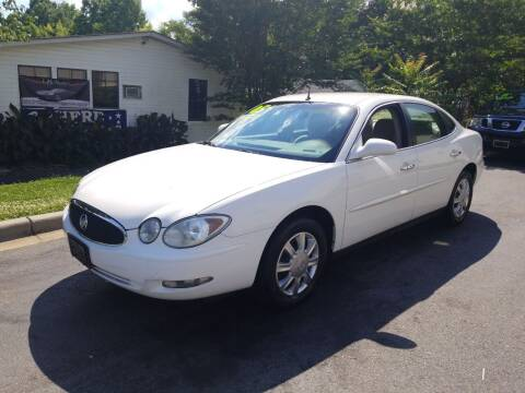 2005 Buick LaCrosse for sale at TR MOTORS in Gastonia NC