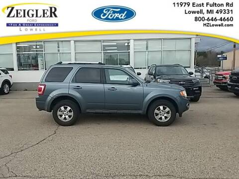 2010 Ford Escape for sale at Zeigler Ford of Plainwell- Jeff Bishop in Plainwell MI