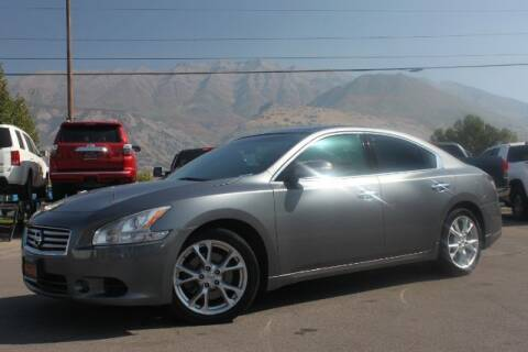2014 Nissan Maxima for sale at REVOLUTIONARY AUTO in Lindon UT